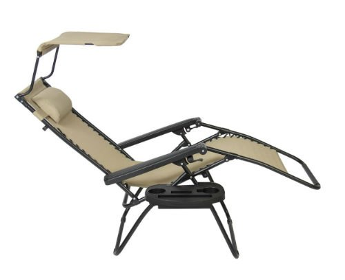 ... Best Choice Canopy Sunshade Lounge Chair back-w500-h500 ...  sc 1 st  Outdoor Furniture & Best Choice Canopy Sunshade Lounge Chair Review - Outdoor ...