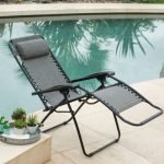 Caravan Sports Infinity Zero Gravity Chairs by the pool back-w500-h500