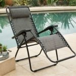 Caravan Sports Infinity Zero Gravity Chairs by the pool front-w500-h500