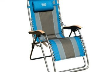TimberRidge Oversized XL Padded Zero Gravity Chair front-w500-h500