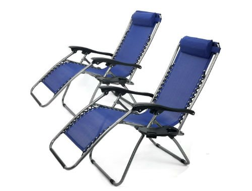 XtremepowerUS Zero Gravity Chair two chairs-w500-h500